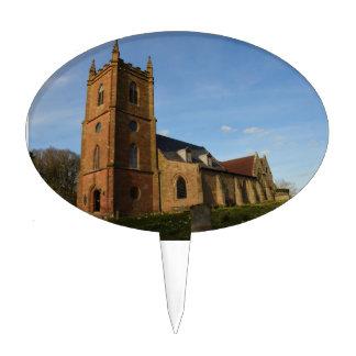 Hanbury Church Cake Topper