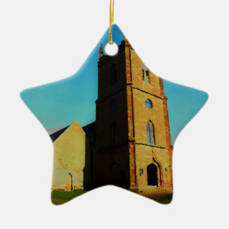 Hanbury Church Ceramic Ornament