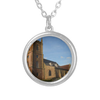 Hanbury Church Silver Plated Necklace