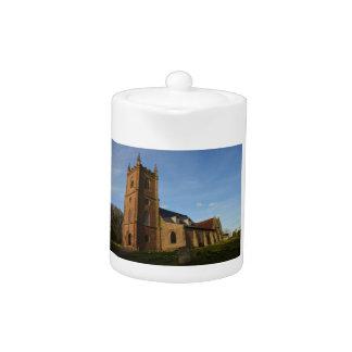 Hanbury Church Teapot