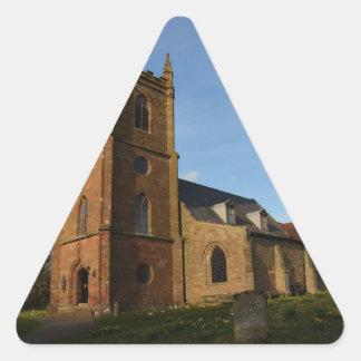 Hanbury Church Triangle Sticker