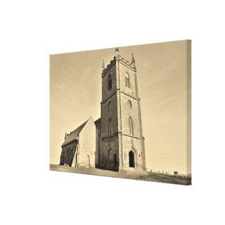 Hanbury Church Worcestershire Canvas Print