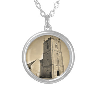 Hanbury Church Worcestershire Silver Plated Necklace