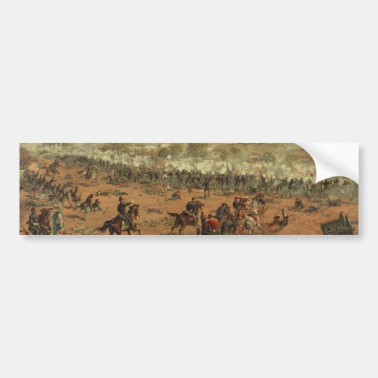 Hancock at Gettysburg by Thure de Thulstrup Bumper Sticker