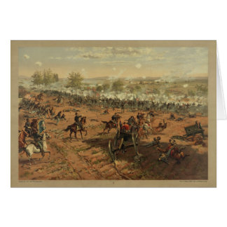 Hancock at Gettysburg by Thure de Thulstrup Card