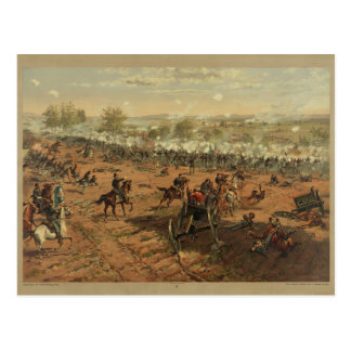 Hancock at Gettysburg by Thure de Thulstrup Postcard