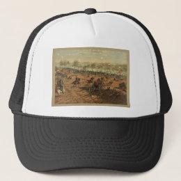 Hancock at Gettysburg by Thure de Thulstrup Trucker Hat