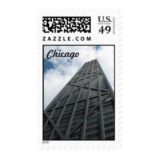 Hancock Building - Chicago Stamp