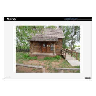 """Hancock Cabin 15"""" Laptop Skin"""