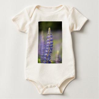 Hancock County Lupines .jpg Baby Bodysuit