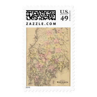 Hancock County, Maine Stamps