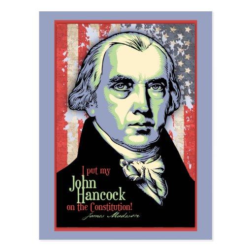 Hancock de Madison Tarjetas Postales