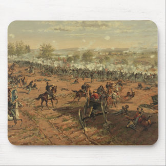 Hancock en Gettysburg de Thure de Thulstrup Alfombrillas De Raton