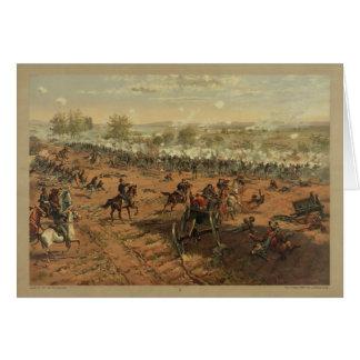 Hancock en Gettysburg de Thure de Thulstrup Tarjeta De Felicitación