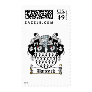 Hancock Family Crest Stamps