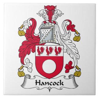 Hancock Family Crest Tile
