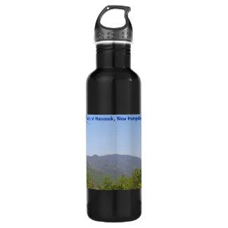 Hancock Mountains New Hampshire Aluminum Bottle