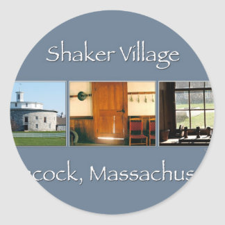 Hancock Shaker Village Classic Round Sticker