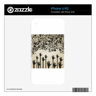 Hand a science iPhone 4S skins