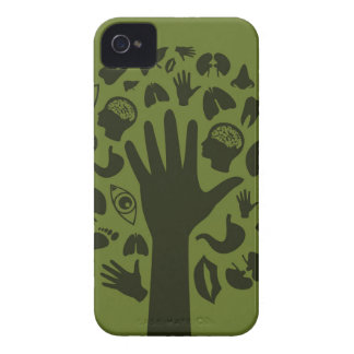 Hand a tree3 iPhone 4 case