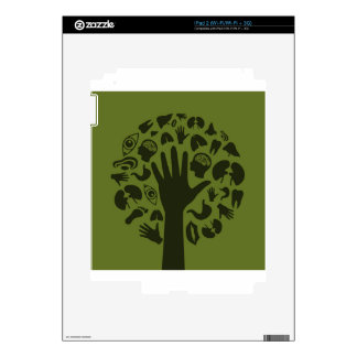 Hand a tree3 skin for the iPad 2