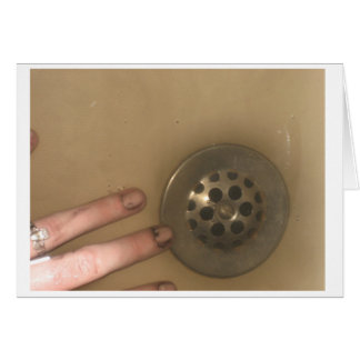 Hand and Drain Card