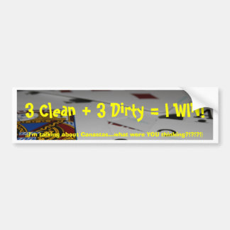 Hand and Foot bumper sticker