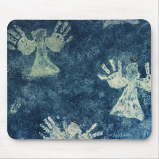 Hand Angels Mouse Pad