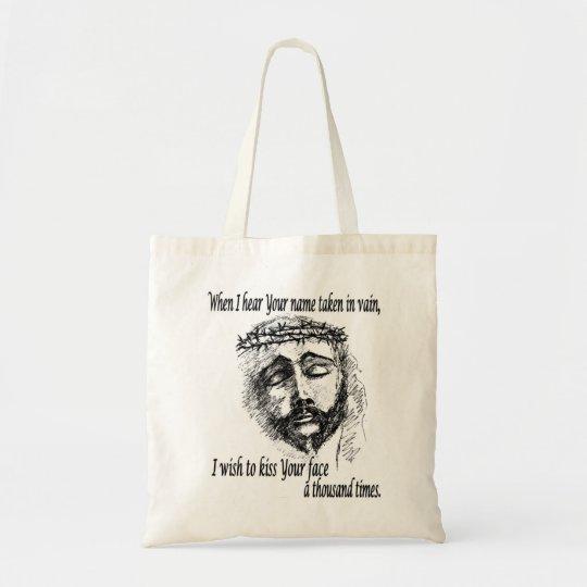 Hand Bag with Head of Christ Logo