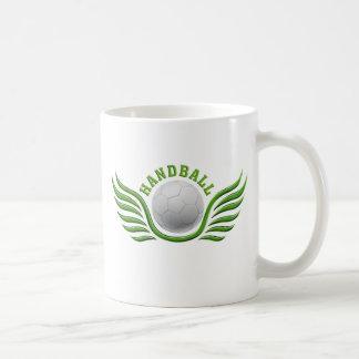 hand ball wings coffee mug