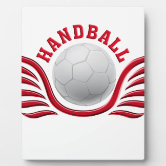 hand ball wings plaque
