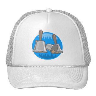 Hand Bells Mesh Hats