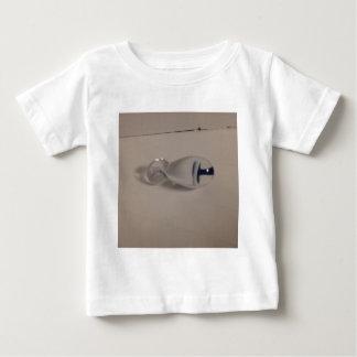 hand blown blue & white glass mushroom pendant tee shirts