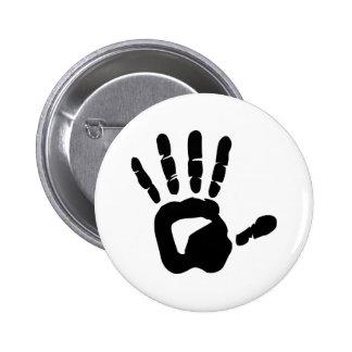 Hand Pinback Button