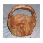 "hand carved wood basket cutout<br><div class=""desc"">hand carved wood basket</div>"