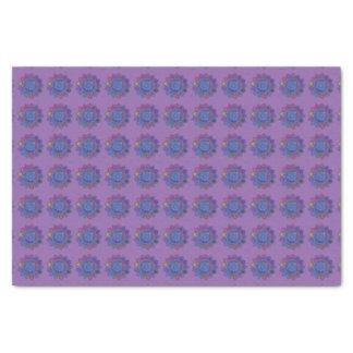 "Hand-Colored Madala 1 10"" X 15"" Tissue Paper"