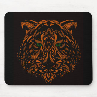 Hand-Colored Tiger Design Multiple Products Mouse Pad