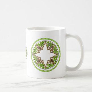 Hand colored victorian graphic classic white coffee mug