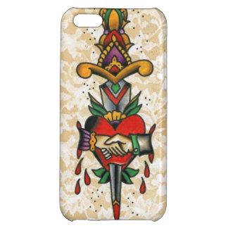 Hand & Dagger iPhone 5C Cases
