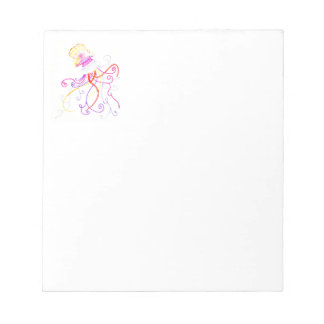Hand Designed Jellyfish Notepad