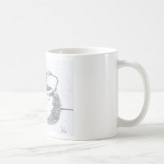 Hand Drawing Teapot Still Life Gear Coffee Mug