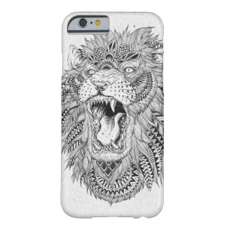 Hand Drawn Abstract Lion Vector Illustration Barely There iPhone 6 Case