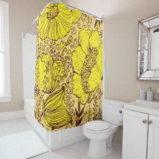 Hand Drawn Shower Curtains Zazzle