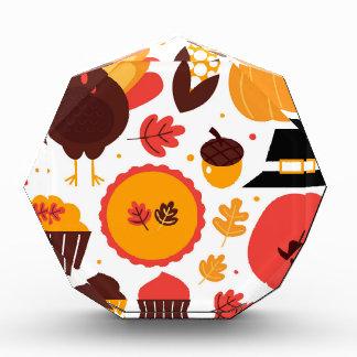 Hand drawn creative Autumn Icons Award