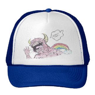 hand drawn design trucker hat
