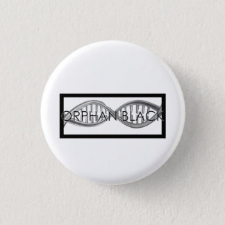 Hand Drawn DNA Pinback Button