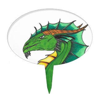 Hand drawn Dragon Cake Topper