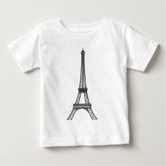 Hand Drawn EiffelTower Baby T-Shirt