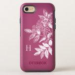 Hand Drawn Elegant Vintage Florals OtterBox Symmetry iPhone 8/7 Case