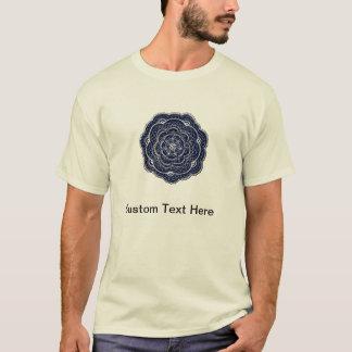 Hand Drawn Flower Doily Design T-Shirt